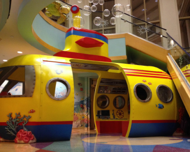 24 ft Submarine Interactive Play Feature for Cardinal Glennon